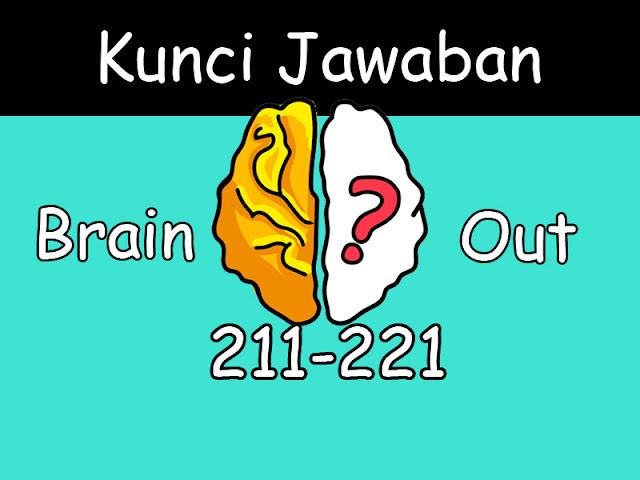 kunci jawaban brain out 211-221