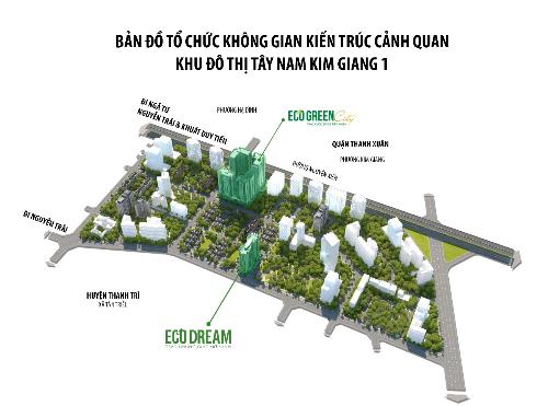 Eco Dream có nhiều tiện ích ngoại khu.