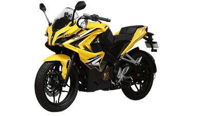 Bajaj Pulsar RS 200 left side View Image