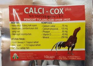 CALCI-COX penguat tulang kaki ayam
