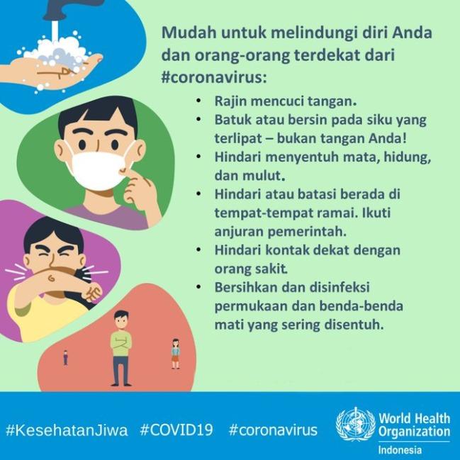 Poster Cegah Coronavirus