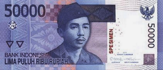 Indonesia Issued New 20000, 50000 and 100000 Rupiah