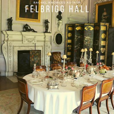 Dining room, Felbrigg Hall (2019)