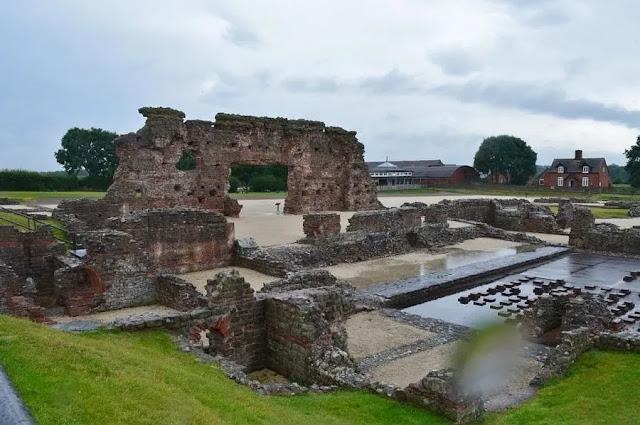 Wroxeter Roman City Shropshire (England)