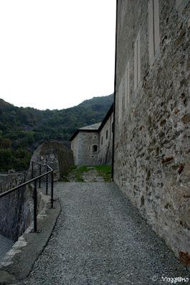 Strade di accesso agli elementi del Forte