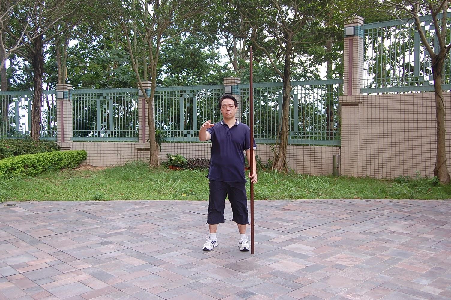 Tai Chi Spear 1 Tai Chi beginning style