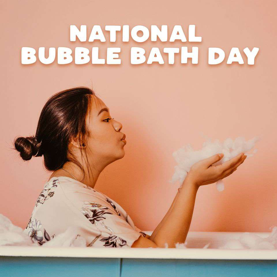 National Bubble Bath Day Wishes Lovely Pics