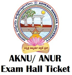 Adikavi Nannaya University Hall Ticket 2017 Download