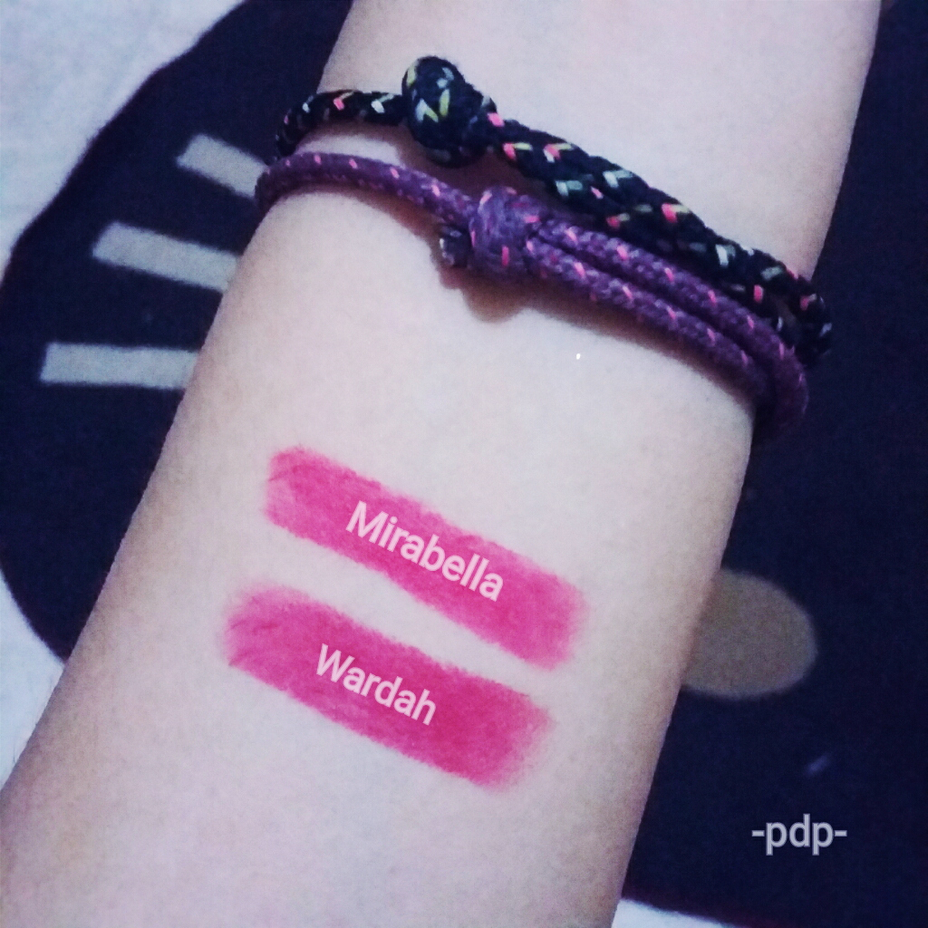 PDP's Review: REVIEW: Mirabella Colorfix Lipstick Vs