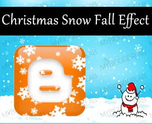 How to create snowfall for Blogspot to celebrate Christmas