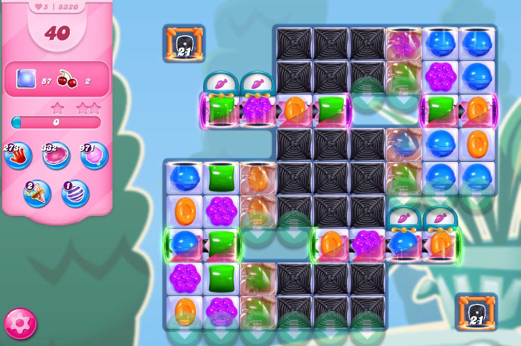Candy Crush Saga level 8320