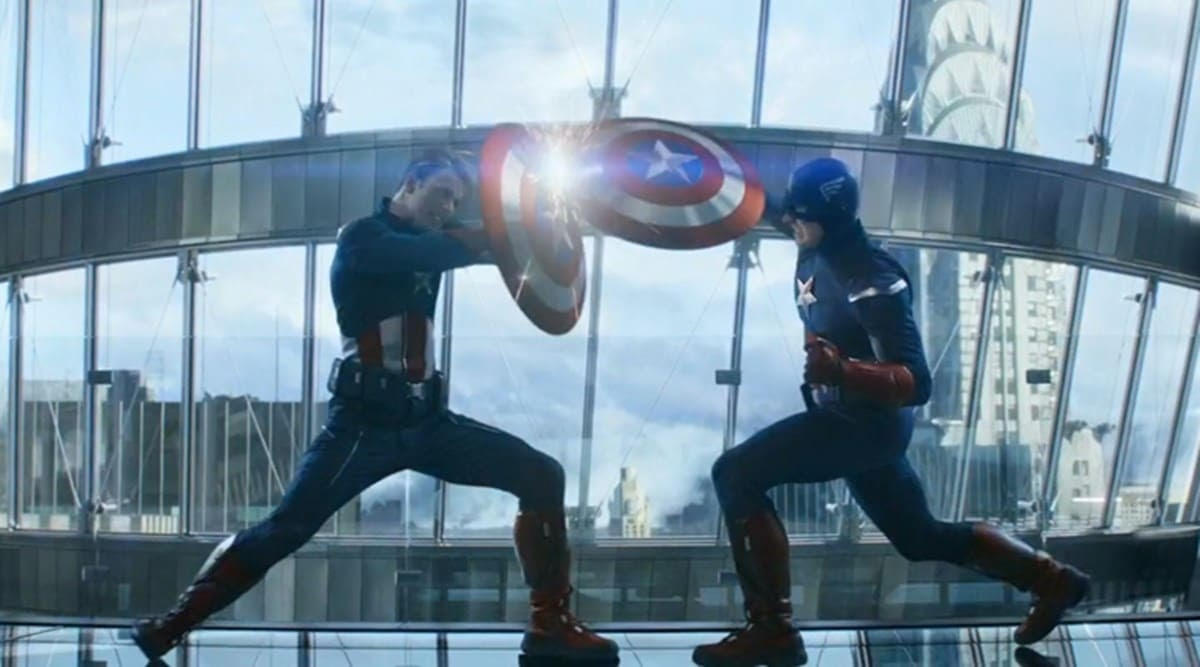 The fall from Cap vs Cap : キャプテン・アメリカ、ダブル転落‼️😄