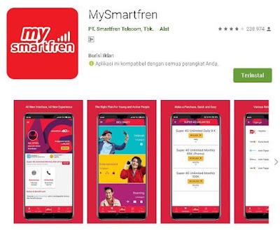 cek nomor smartfren melalui aplikasi mysmartfren