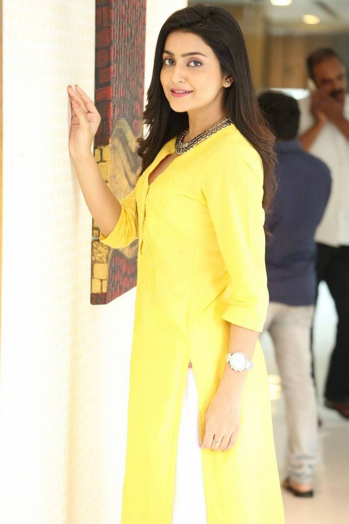 Actress Avantika In Yellow Dress Photoshoot Stills