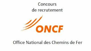 Concours de Recrutement ONCF 2021 (262 Postes)
