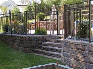 Retaining Walls With Fences On Top Mycoffeepot Org