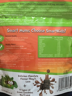 SmartKids superfood shake ingredients