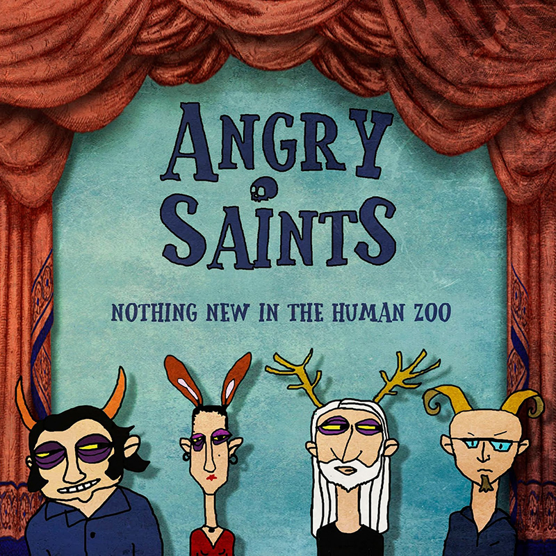 "Angry Saints' potent ""Swan Song"" churns like a rock machine"