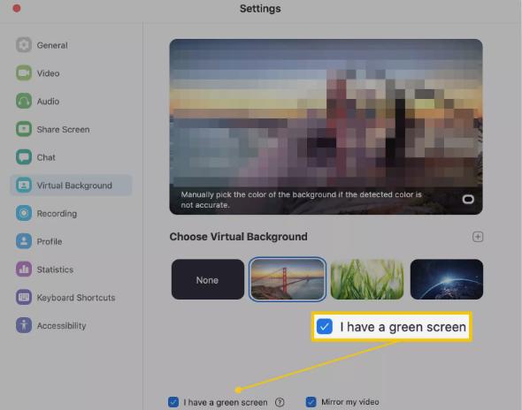 Cara Menggunakan Zoom Virtual Fitur Backgraund  di PC 5