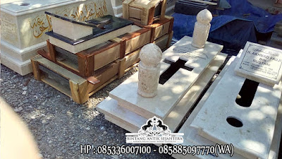 Model Makam Kristen, Desain Kuburan Kristen Minimalis, Kijing Kristen Granit