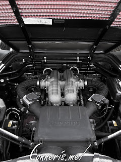 Ferrari 348 TS Engine Bay