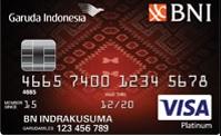 Kartu Kredit BNI Garuda Platinum