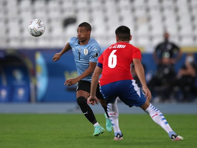 Juga los cuartos de Final Uruguay tras derrotar a Paraguay