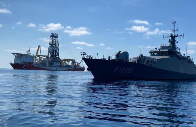 Άγκυρα: Οι έρευνες στην αν. Μεσόγειο συνεχίζονται συνοδεία ναυτικών δυνάμεων