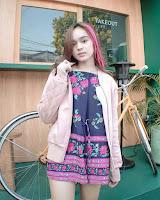 foto artis kpopers cantik Angel Lisandi Putri