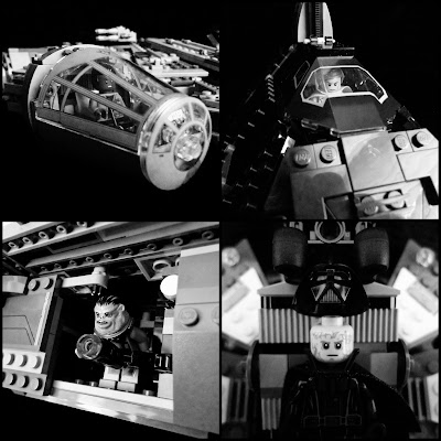 LEGO Star Wars in Black and White
