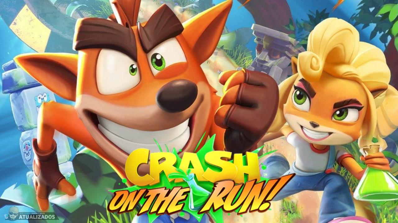 Crash Bandicoot on the run 1.0.81 apk mod dinheiro infinito download atualizado