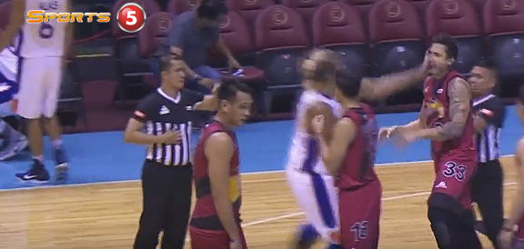 Asi Taulava Slaps David Semerad In The Face (VIDEO)