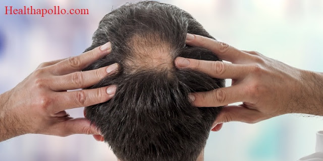 Massaging hair to prevent hair loss
