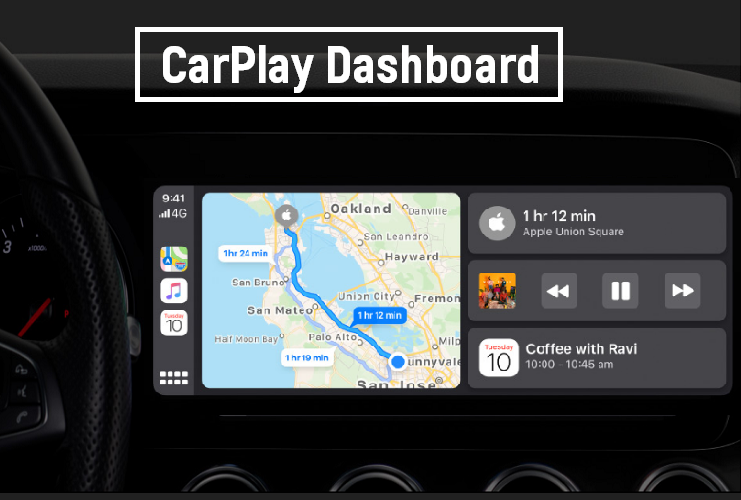 iOS 13 CarPlay Dashboard Feature