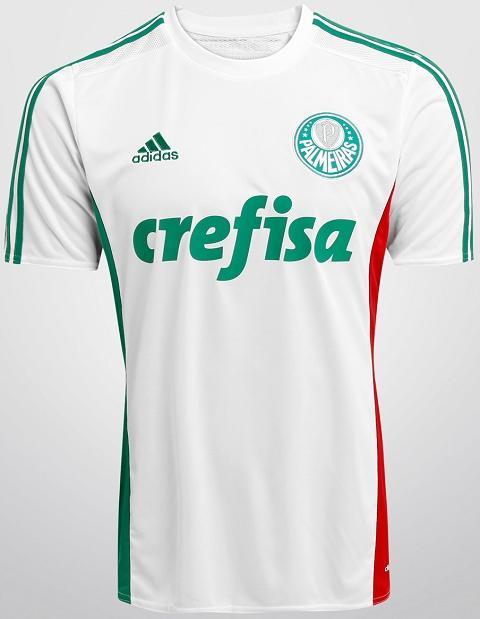3afcade5c3 Adidas lança camisa reserva do Palmeiras - Show de Camisas