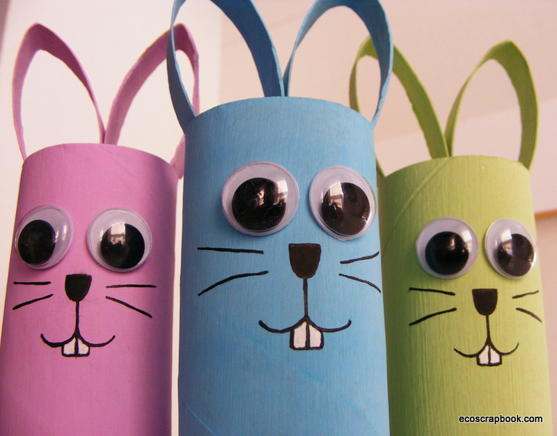 Easter Paper Crafts For Kids Papercraft