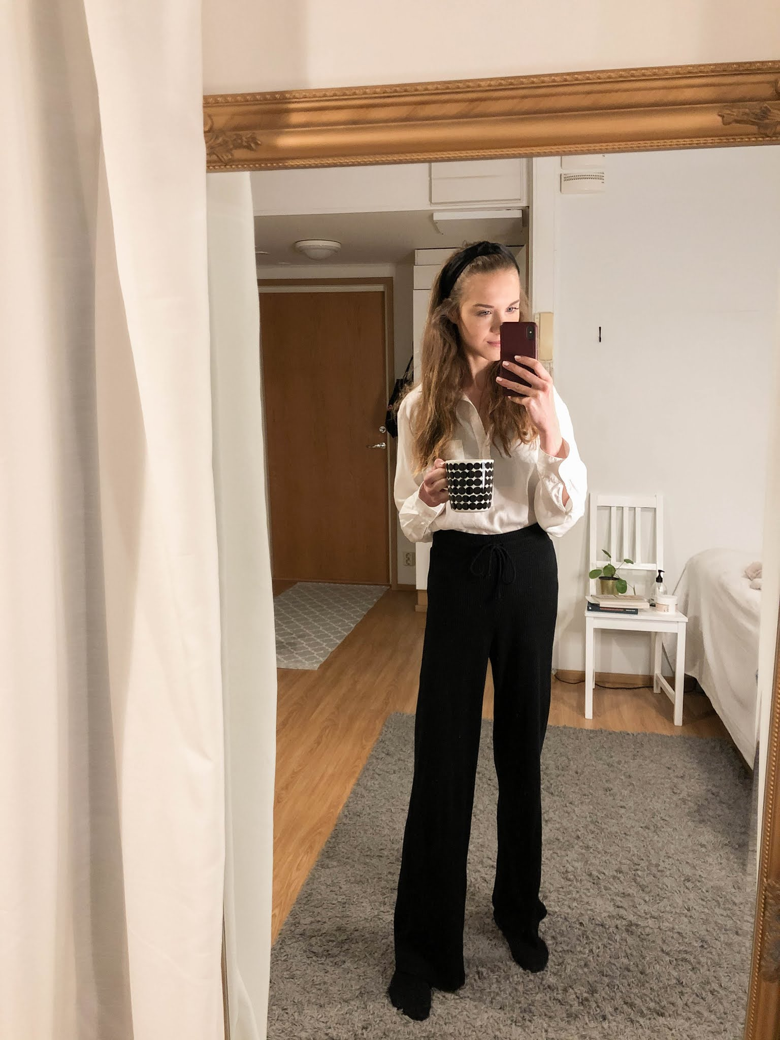 Rento talviasu töihin // Casual winter outfit for work