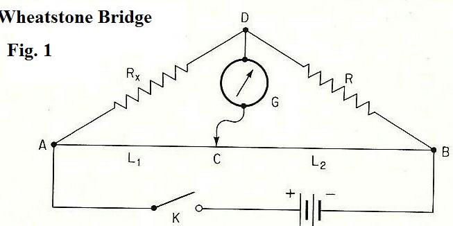 Wiring Diagram Wheatstone Bridge : 32 Wiring Diagram