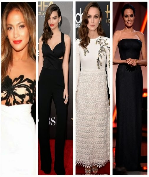 Gorgeous ladies at the 18 Annual Hollywood Films Awards