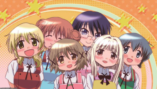 Anime Slice of Life Comedy Terbaik - Hidamari Sketch