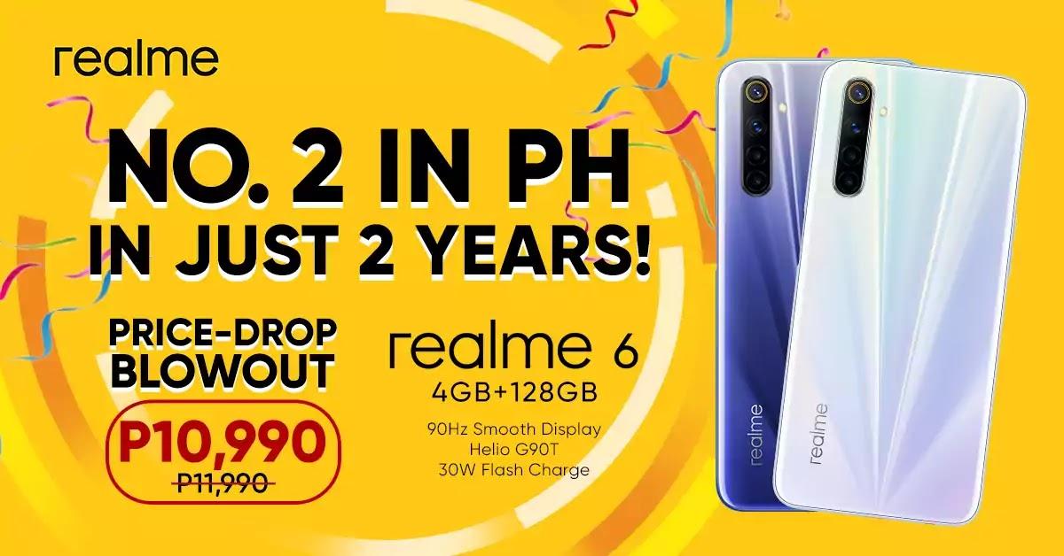 realme 6 Price Drop