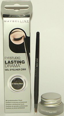 Maybelline Eye Studio Lasting Drama Black Gel Eyeliner