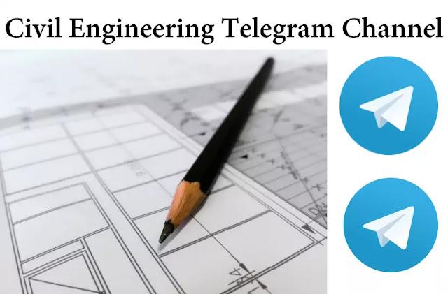 Civil Engineering Telegram Channel 2020