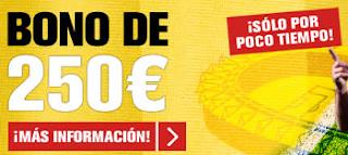 interwetten consigue ahora 250 EUR de bono 18-19 agosto
