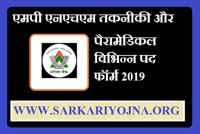 nhm mp anm staff nurse online form 2019,nhm mp online form 2019,mp nhm technical &