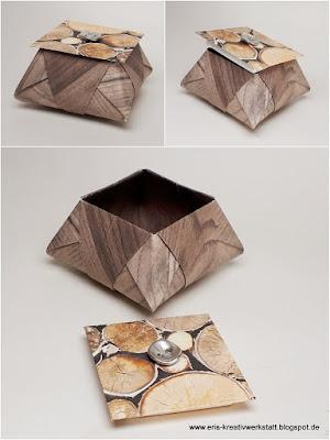 Origami-Stern-Dose Stampin' Up! www.eris-kreativwerkstatt.blogspot.de