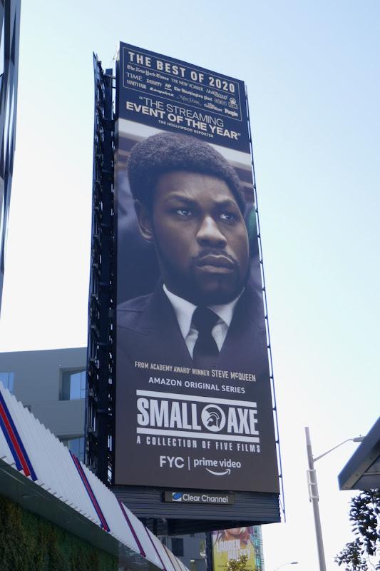 John Boyega Small Axe FYC billboard