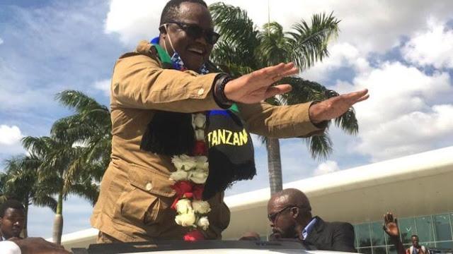 Tanzanian opposition leader, Tundu Lissu
