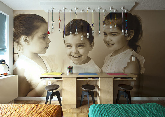 2Design Plus: Triplet bedroom | Παιδικό δωμάτιο τρία σε 1.
