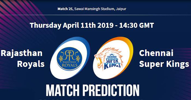 VIVO IPL 2019 Match 25 RR vs CSK Match Prediction, Probable Playing XI: Who Will Win?